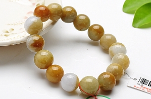 Charming Yellow Color Jade Bracelet