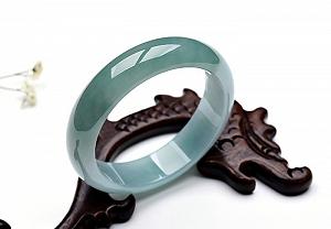 Wonderful Light Blue Color Jade Ruyi Pendant