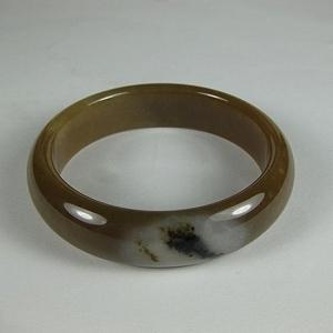 Nephrite Bracelet Mountain Flowing Water Sugar Jade Bracelet Special Feature Three Color Bracelets