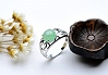 Charming Light Green Color Jade Ring