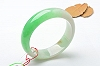 Rare Noble Ice Type Green Color Jade Bangle
