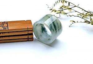 Wonderful Scattered Flower Jade Ring