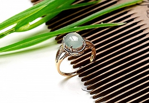 Rare Noble Ice Type Jade Ring