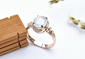 Rare Noble Ice Type Jade Ring