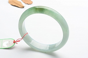 Wonderful Blue Yellow Color Jade Bangle
