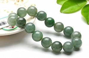 Charming Oil Blue Color Jade Bracelet