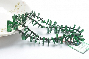 Wonderful Positive Green Color Jade Necklace