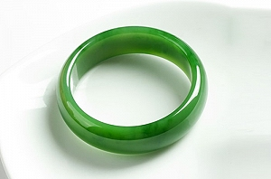 Great Green Hetian Jade Bangle To Choose.Support Customized Size