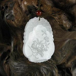 Mutton Fat Jade Pendant Everything Satisfied