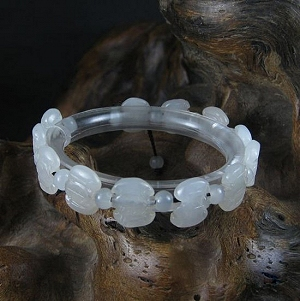 Nephrite Original Seed Bracelet Only Natural Seed Bracelet Jade Delicate Quality Full Pore