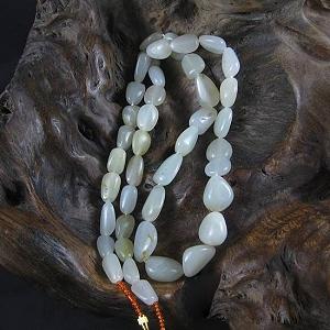 Nephrite Seed Jade Necklace Seed Jade Original Seed White Jade Necklace