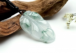 Rare Noble Ice Type Jade Pendant