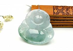 Wonderful Jade Buddha Pendant