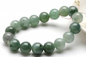 Charming Scattered Flower Color Jade Bracelet