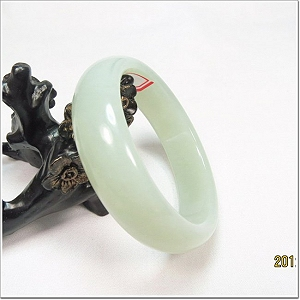 Charming White Hetian Jade Bangle To Choose