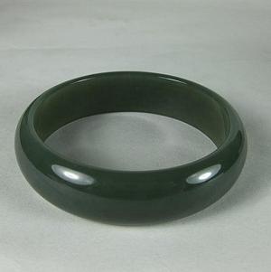 Nephrite Bracelet Special Grade Mountain Material Green Jade Bracelet Jade Delicate Quality