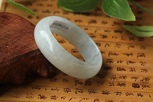 Wonderful Oval Jade Bangle On Sale